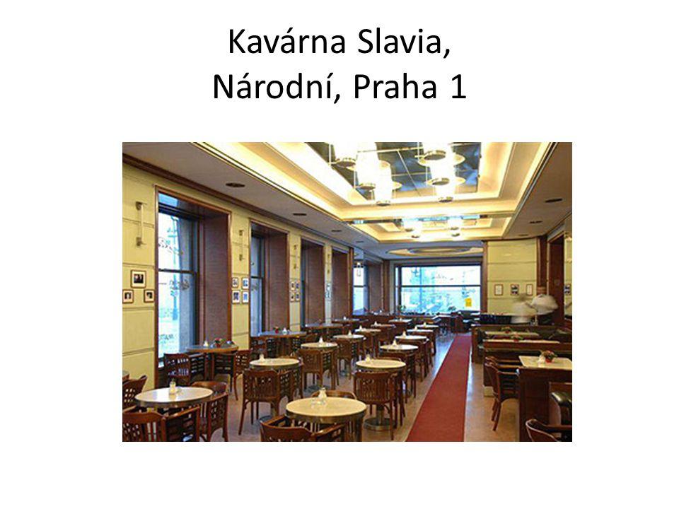 Café Savoy, Vítězná 5, Praha 1