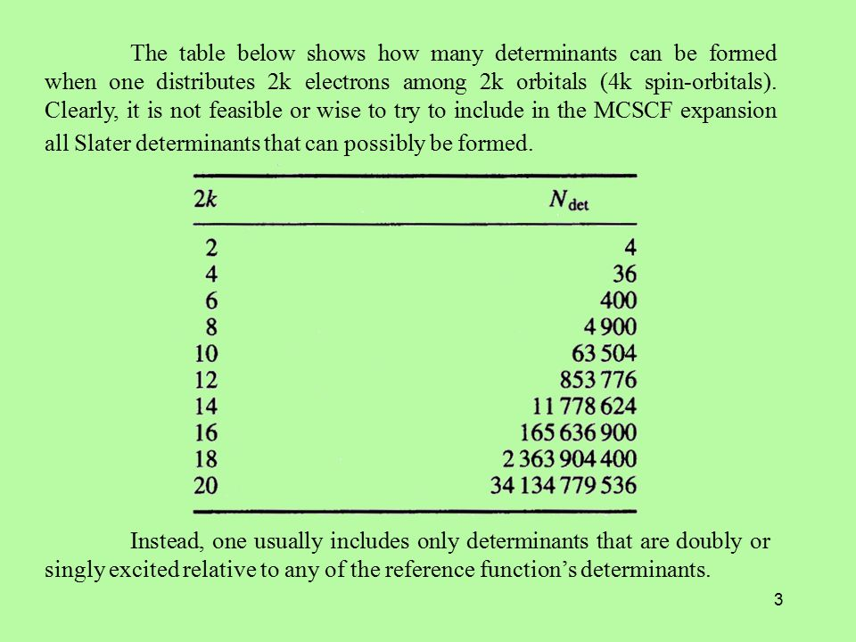 4 The H I,J matrix elements and the elements of the Fock-like matrix are expressed in terms of two-electron integrals that are more general than the Coulomb and exchange integrals.