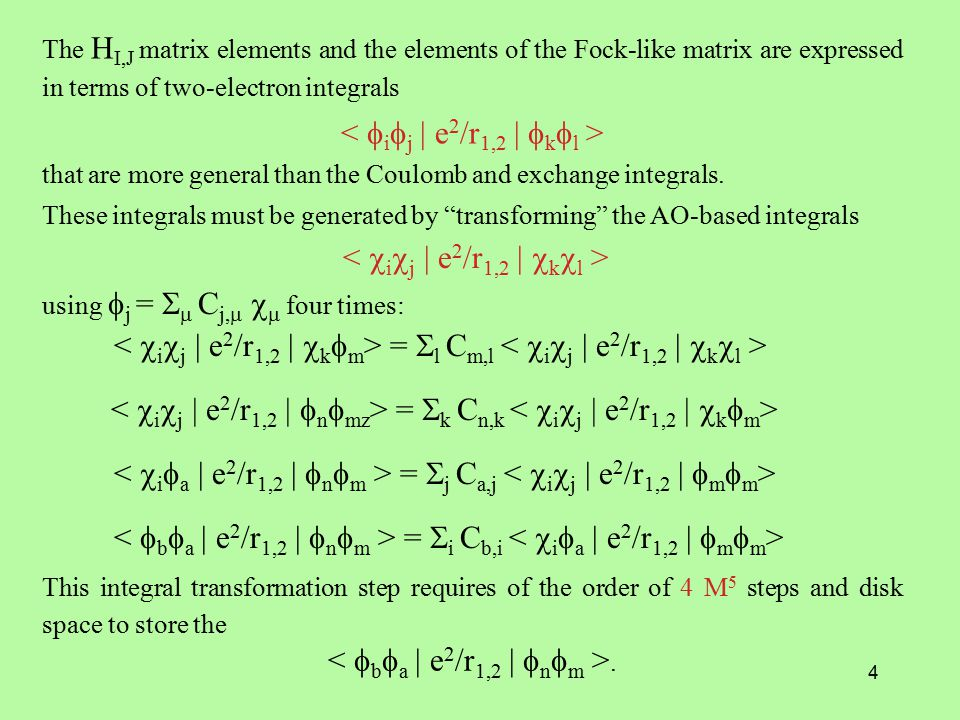 5 Advantages: MCSCF can adequately describe bond cleavage, can give compact description of , can be size extensive (give E(AB) = E(A) + E(B) when A and B are far apart) if CSF list is properly chosen, and gives upper bound to energy because it is variational.
