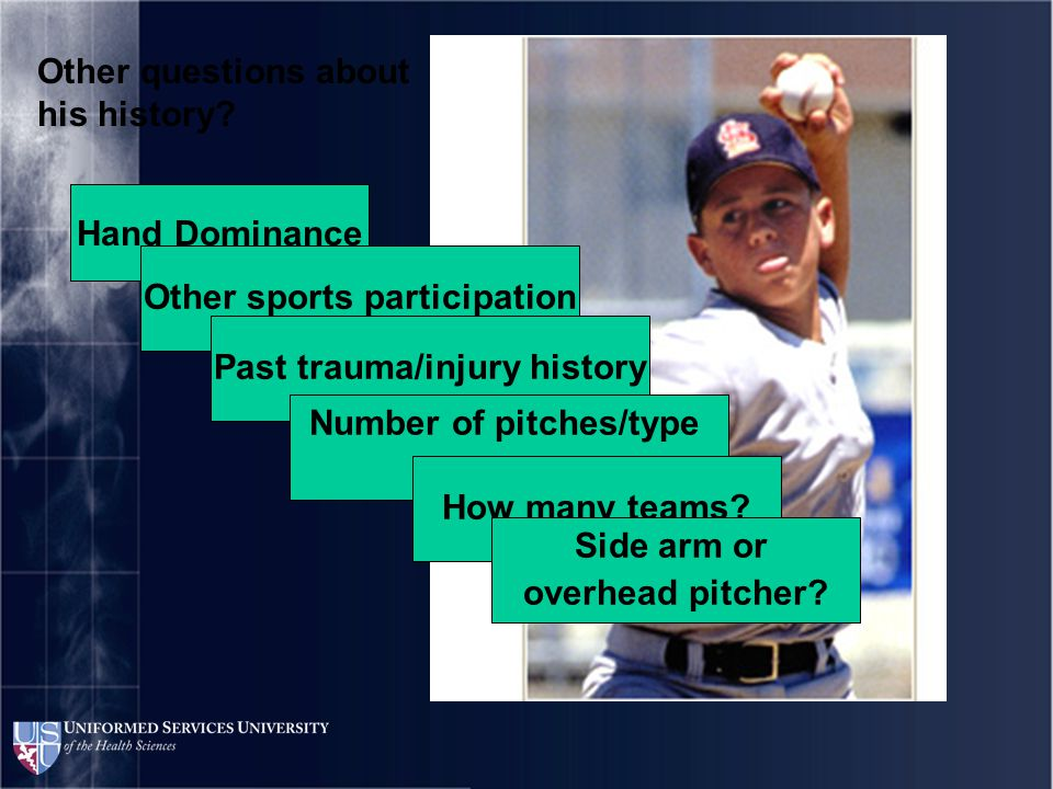 DDx What can cause elbow pain in the young athlete?