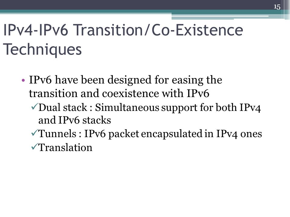 IPv6 challenges in Nigeria ISPs need a business case Lack of technical know how Core equipment compatibility issues Lack of IPv6 upstream service providers Non requests from end users 16