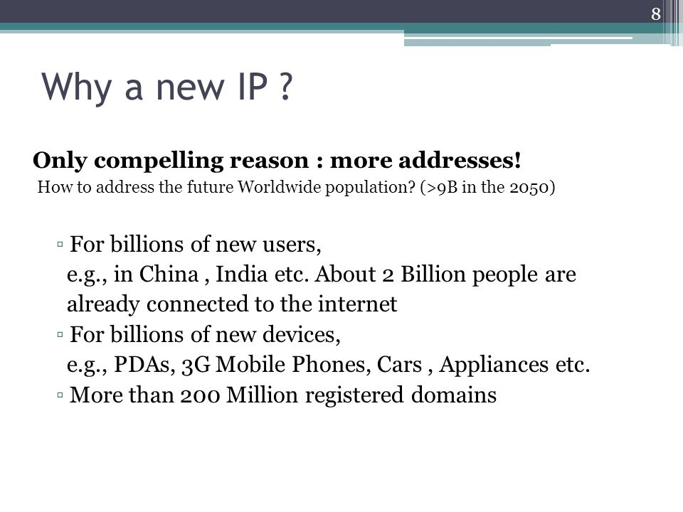 Introduction to ipv6 IETF IPv6 WG began in early 1990s, to solve addressing growth issues, but ▫CIDR, NAT, PPP, DHCP,… were developed ▫Some address reclamation ▫The RIR system was introduced ▫  Brakes were put on IPv4 address consumption 9