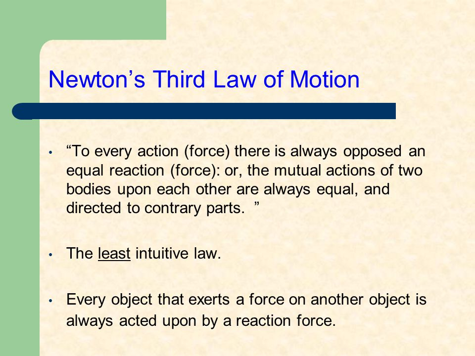 Newton's Third Law of Motion Examples: 1.Recoil of a gun.