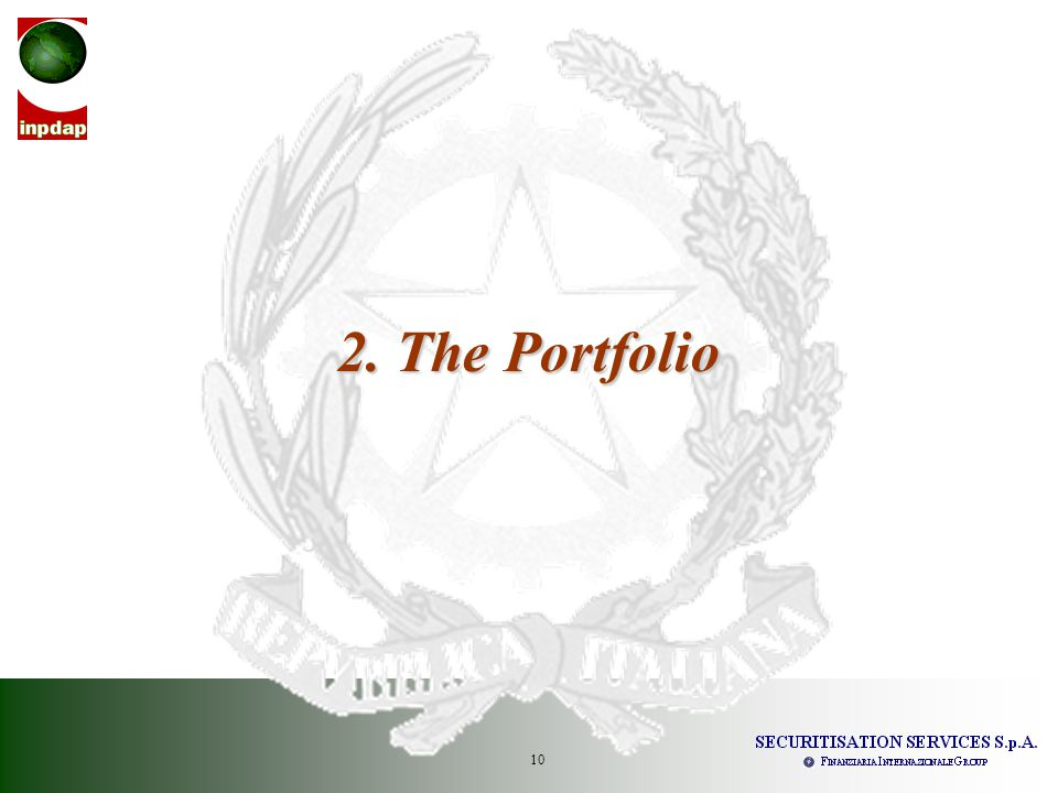 11 Collection Period: 26 th May 2009 – 25 th August 2009 Interest Period: 22 nd June 2009 – 20 th September 2009 Outstanding Portfolio: breakdown by type of Personal Loan 2.