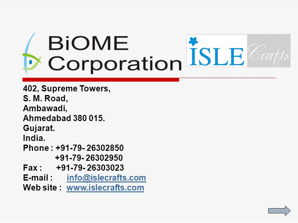 Biome Corporation is a leading supplier of innovative, convenient and eco friendly ISLE-AN ECO CORRUGATED SERIES to European and South East Asian Countries.