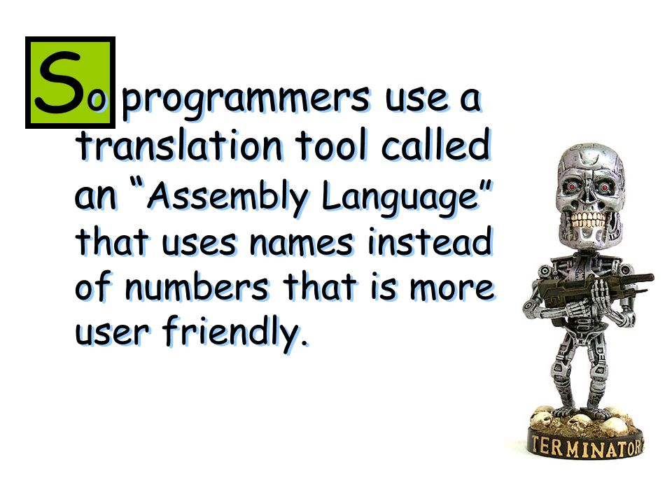 or instance, when a programmer types mov al, 061h it means m ove the hexadecimal value 61 (97 decimal) into the processor register with the name al .