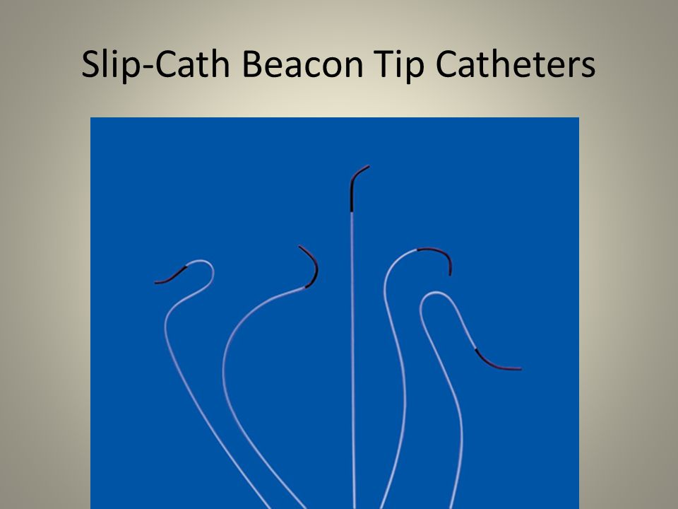 Beacon Tip Torcon NB Advantage Caths Enhanced radiopaque Beacon tip Gradual transition of radiopaque Beacon tip to catheter shaft Sixteen stainless steel wire braid Nylon material