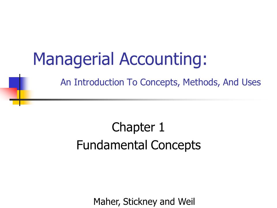 C1 - 2 Learning Objectives (Slide 1 of 2) Distinguish between managerial and financial accounting.