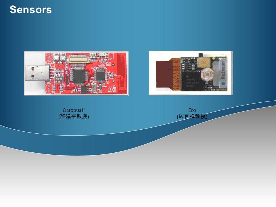 Wireless Sensor Network 台北市政府空調監測系統 玻璃基板輸送帶震動監控 土石流暨五彎仔邊 坡滑動監測 生理資訊追蹤及肢體互動系統