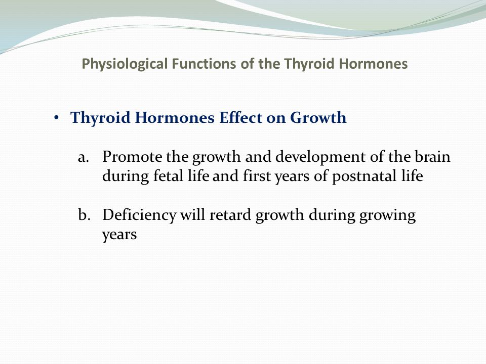 Physiological Functions of the Thyroid Hormones Effect on Specific Bodily Mechanisms a.Stimulation of cbh metabolism-rapid uptake of glucose, enhanced glycolysis, enhanced gluconeo- genesis, increased rate of absorption, increased insulin secretion b.Stimulation of fat metabolism-lipids are mobilized rapidly decreasing fat stores, increases free fatty acid concentration in plasma, and accelerates the oxidation of free fatty acids in cells