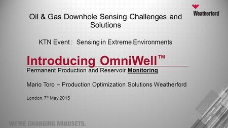 Introducing OmniWell™