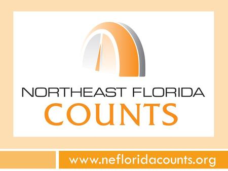 Www.nefloridacounts.org. NE Florida Counts Investors Baptist Health Brooks Rehabilitation Duval County Health Department Flagler Hospital Florida Hospital.