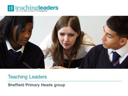 DRETNov 2014 Teaching Leaders Sheffield Primary Heads group.