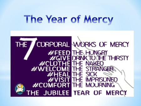 How are we going to be ambassadors of mercy? To answer this, we need to LISTEN to GOD'S WORD and the teachings within the BIBLE.