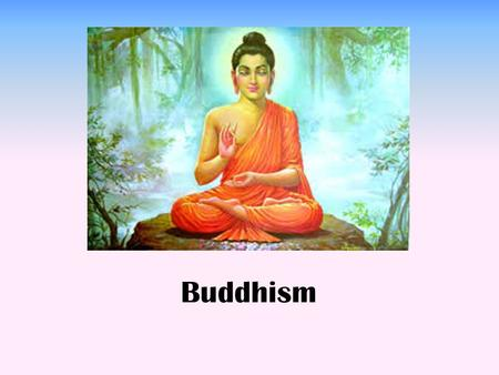 Buddhism. Buddhists follow one of many paths of action and become free from suffering not by worshipping gods, but by following the example of the 6 th.