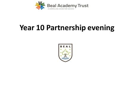 Year 10 Partnership evening