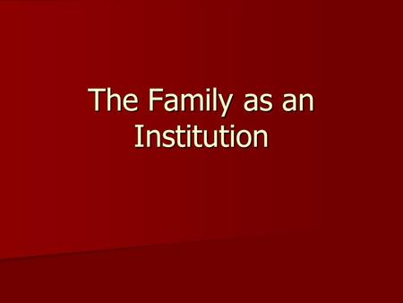 functions of the family 4