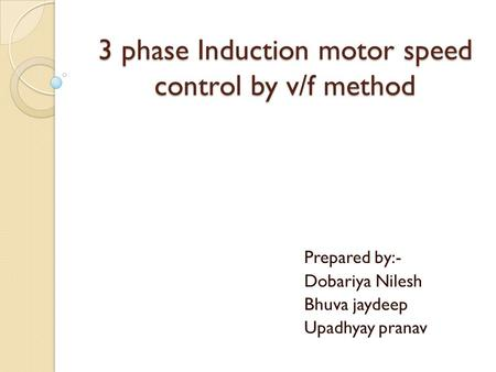 unit iii induction motor drives topic voltage frequency