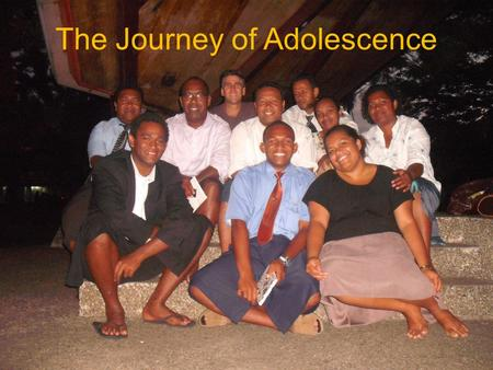 "The Journey of Adolescence Identity INDIVIDUATION Autonomy Belonging The TASK of Adolescence: It's about POWER! What it looks like now ""Who am I?"" ""Do."