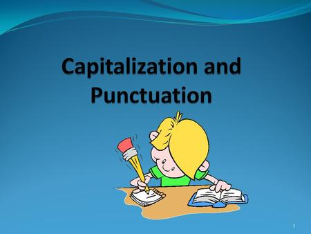 1. Punctuation Definition Punctuation is the system that divides what we write into separate parts in order to make our meaning clearer. Without punctuation.
