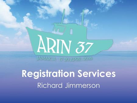 Registration Services Richard Jimmerson. RSD Core Functions IPv4, IPv6, and ASN requests Change of Authority Services – ORG & POC recovery – Transfers.