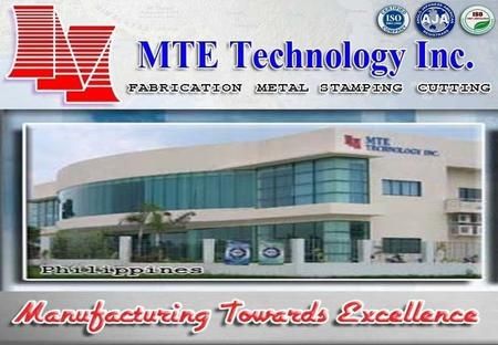 Here comes your footer Page 2 MTE TECHNOLOGY, INC. Established 1987 by MR. CLEMENT CHAN Established 1987 by MR. CLEMENT CHAN Approximately 250 employees.
