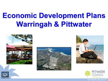 Economic Development Plans Warringah & Pittwater.