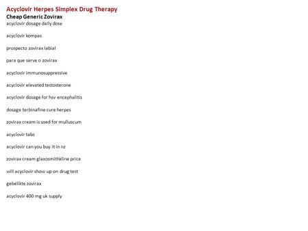 acyclovir 400 mg dosage instructions