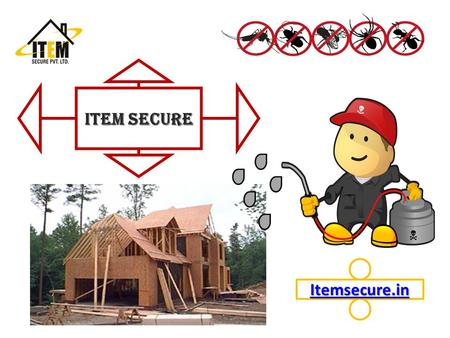 Item Secure Itemsecure.in. Introduction An effective and high quality variety of products and equipments is essential to effectively treat termite infestations.