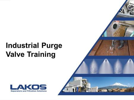 Presentation Title Presented by Joe Blow Industrial Purge Valve Training.