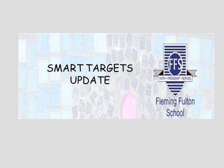 SMART TARGETS UPDATE. We set ourselves five realistic targets: 1. Texting2. Website3. P.S.A 4. Counselling 5. Individual Communication Our SMART Targets.