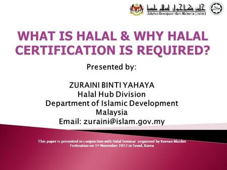 WHAT IS HALAL & WHY HALAL CERTIFICATION IS REQUIRED?