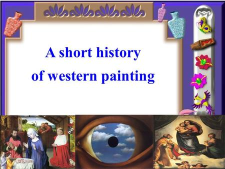 A short history of western painting A short history of western painting.