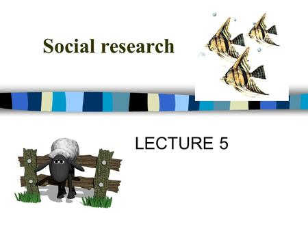 Social research LECTURE 5. PLAN Social research and its foundation Quantitative / qualitative research Sociological paradigms (points of view) Sociological.