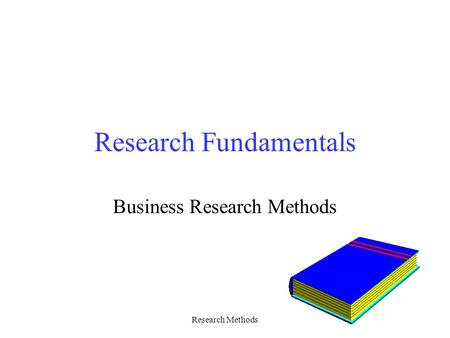 Research Methods Research Fundamentals Business Research Methods.