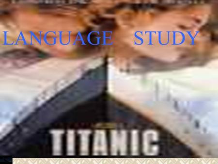 LANGUAGE STUDY. on their first voyage a collision with an iceberg permanent love on board escape fiction.