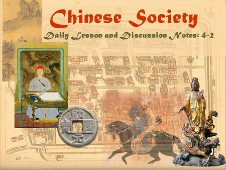 Chinese Society Daily Lesson and Discussion Notes: 4-2.