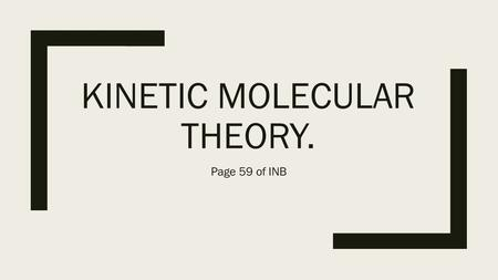 relationship between molecular speed and temperature