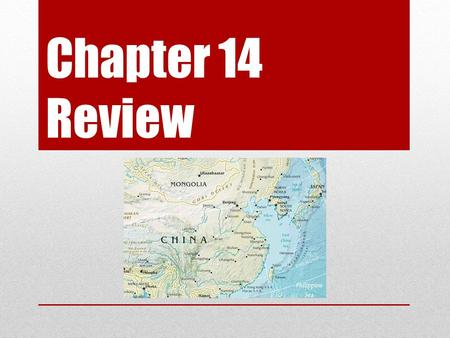 Chapter 14 Review. 1.Farmland that is good for raising crops is known as _________. arable land 2.Nomadic herders must often move their livestock so that.