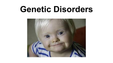 Genetic Disorders. I. Causes of Genetic Disorders A. Mutations: A change in the __________ sequence leads to a different _______.