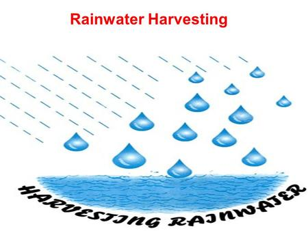 Rainwater Harvesting. CONTENT Introduction What is Rainwater Harvesting Why is it Important? Objectives of Rainwater Harvesting Methods of Rainwater Harvesting.