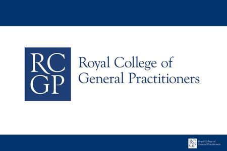MRCGP The Clinical Skills Assessment January 2013.