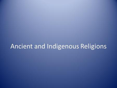 Ancient and Indigenous Religions. RELIGION MEANING - re·li·gion noun 1. a set of beliefs concerning the cause, nature, and purpose of the universe, especially.