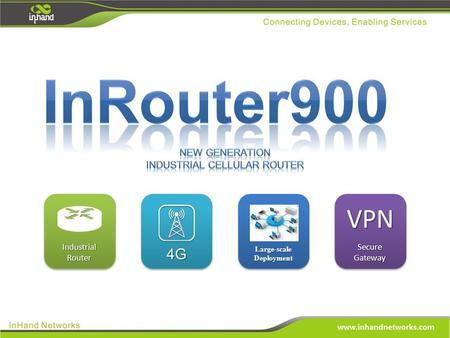 VPN Secure Gateway VPN 4G4G Large-scale Deployment Industrial Router.