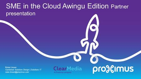SME in the Cloud Awingu Edition Partner presentation Rolan Linsen Combined Solutions Design | Solutions IT