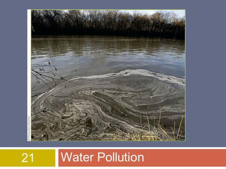21 Water Pollution [Figure beginning of chapter 21 page 415]