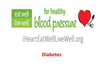 Diabetes. What is Diabetes: Diabetes is a disease in which your blood glucose, or blood sugar, levels are too high. Glucose comes from the foods you eat.blood.