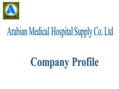 History & Background 1982- Established as a medical supplies division of GAMA Services Ltd., one of the leading Healthcare Maintenance Organization (HMO)