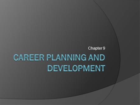 Chapter 9. Career Portfolio  Provides tangible evidence of your ability and skills Resume, cover letter, and answers to sample interview questions Samples.