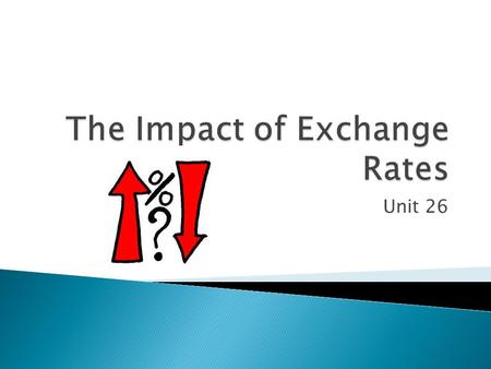 Unit 26.  What is the base interest rate?  What is the variable interest rate?  What is the exchange rate to Euros?  What is the exchange rate.
